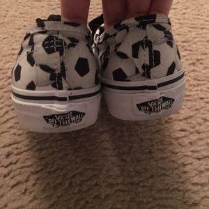 b1072d78f3 Vans Shoes - Boys Vans soccer print sneakers size 1.5